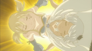 Lucy and Yukino Combining Their Powers (Fairy Tail Ep 192)