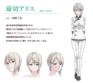Alice Nakiri Anime Concept Art