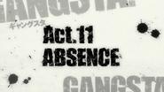 Gangsta Title Card 11