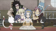 Fairy Tail Episode 234 Levy's Group Researching END