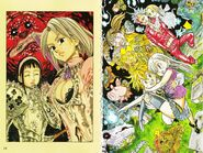 The Seven Deadly Sins Artbook Page 18-19