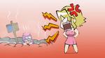 Leone and Sheele Hot spring (Akame ga Kill ONA 3)