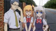Nao, Yusarin, and Megane (Charlotte Ep 10)