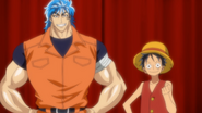 Toriko Crossover Ep 1 Toriko and Luffy Introduction
