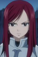 Erza Scarlet profile portrait
