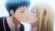 Yamada and 7 Witches Ep 2 Yamada kisses Shiraishi