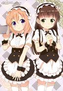 Cocoa Hoto and Chiya Ujimatsu (Megami 193)
