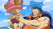 Ep 1 Toriko grabs Chopper