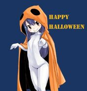 Wendy Marvell's Halloween Outfit 2015 Twitter Sketch by Hiro Mashima