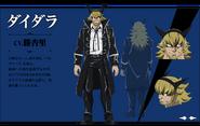 Daidara Anime Concept
