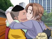 Kyo Hugging Onigiri (Air Gear Ep 7)