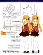 Yusa and Misa Concept Art (Dengeki G)