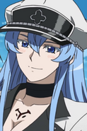 Esdeath Smiling Portrait