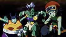 Universe 4 Team PT 2 (Dragon Ball Super Ep 96)