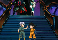 Kid goten kid trunks vs garlic jr hansman