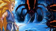 Ssj3 gt goku vs spiders