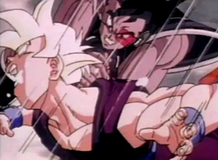 File:435px-Turles his gohan in the neck truning his eyes wittie and makeing him cough up spit.png