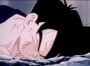 Gohan is dead after turles kills him
