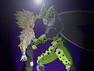 Request Gohan vs Cell by Tonesko2-1