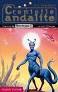 Animorphs andalite chronicles animorfi Cronicile andalite romanian cover