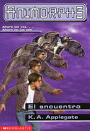 Animorphs 3 the encounter El encuentro spanish cover mariposa