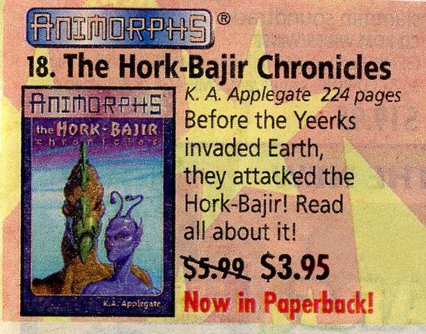 File:Hork Bajir Chronicles advertised in Scholastic Book Orders.jpg