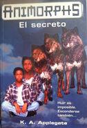 Animorphs 9 the secret El secreto spanish cover Ediciones B