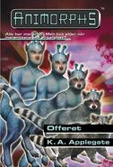 Animorphs 52 the sacrifice Offeret Norwegian cover