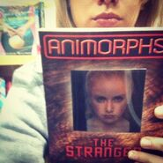 Marlee roberts animorphs book 7 the stranger rerelease