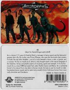 Animorphs ax id card front and back