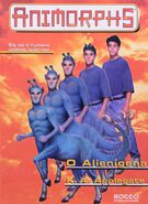Animorphs 8 the alien o-alienigena brazilian cover