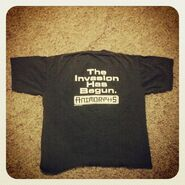 The invasion has begun shirt