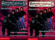 Animorphs book 5 predator 2 covers earlier and later printing
