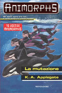Animorphs 36 the mutation La mutazione italian cover