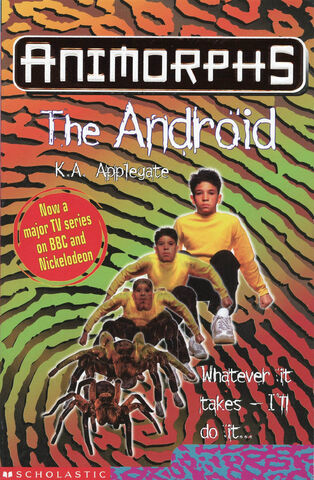 File:Animorphs 10 the android UK front cover 1999 edition.jpg