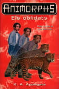 Animorphs 11 the forgotten els oblidats catalan cover
