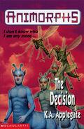 Animorphs 18 the decision UK cover earlier