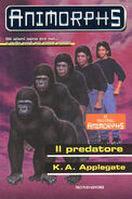Animorphs 5 the predator Il predatore italian cover