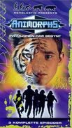 Animorphs vhs 1.1 norwegian front cover