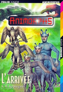 Animorphs 38 the arrival l'arrivee french cover