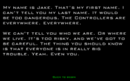 3 animorphs yeerk pool game story intro screen