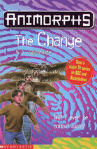 Animorphs 13 the change UK cover later printing