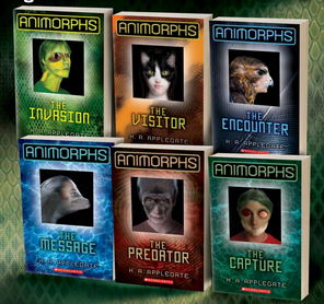 Animorphs relaunch covers 1-6