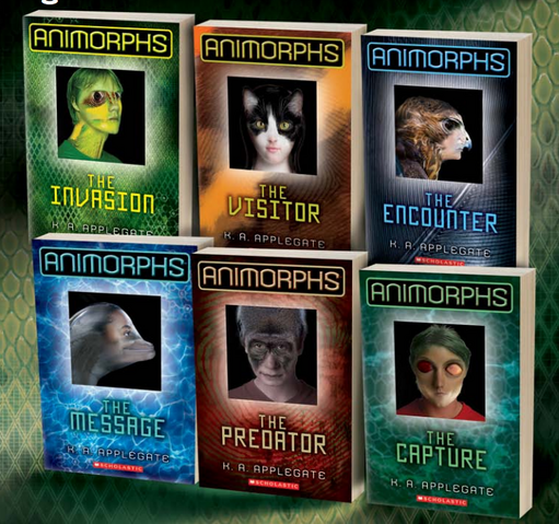 File:Animorphs relaunch covers 1-6.png
