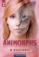 Animorphs book 2 The Visitor o visitante Brazilian cover hi res