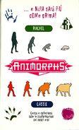 Animorphs 44 unexpected italian stickers adesivi