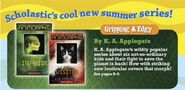 Scholastic paperbacks catalog summer 2011 books 1 and 2 original covers