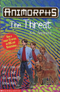 Animorphs 21 the threat UK another cover