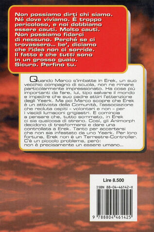 File:Animorphs 10 the android L androide italian back cover.jpg