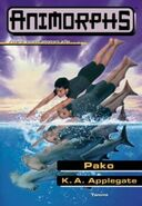 Animorphs 15 the escape Pako Finnish cover